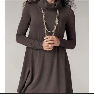 Cabi brown tunic dress style # 596